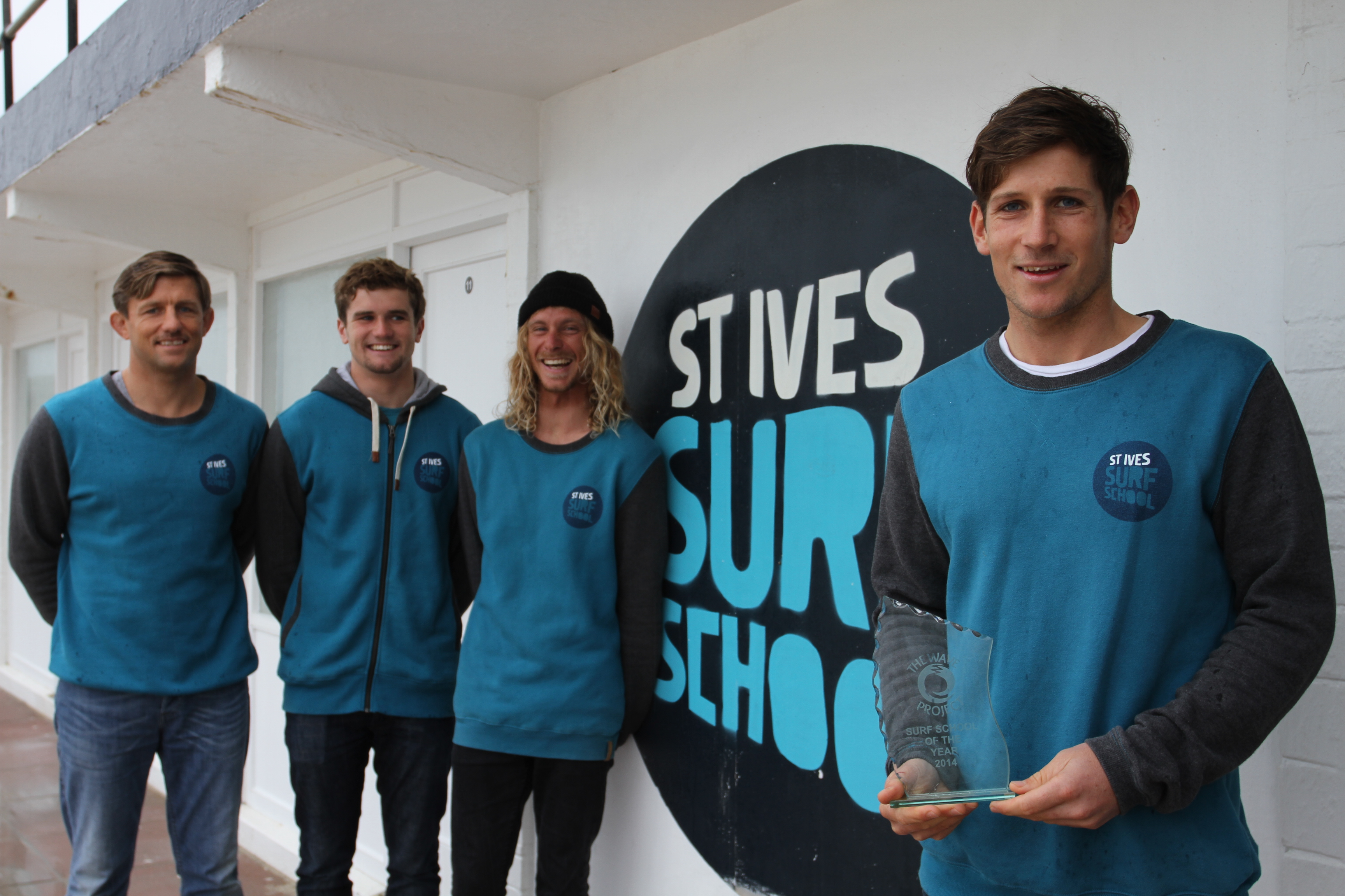 Award for St. Ives Surf School!