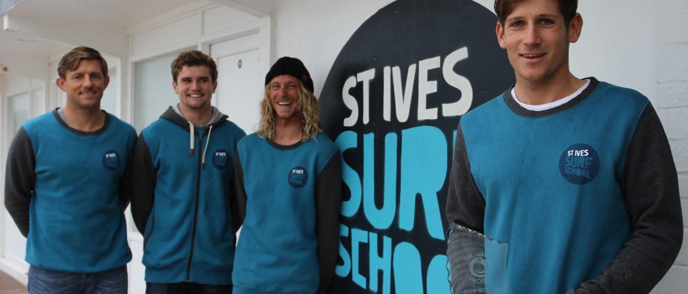 Award for St. Ives Surf School!