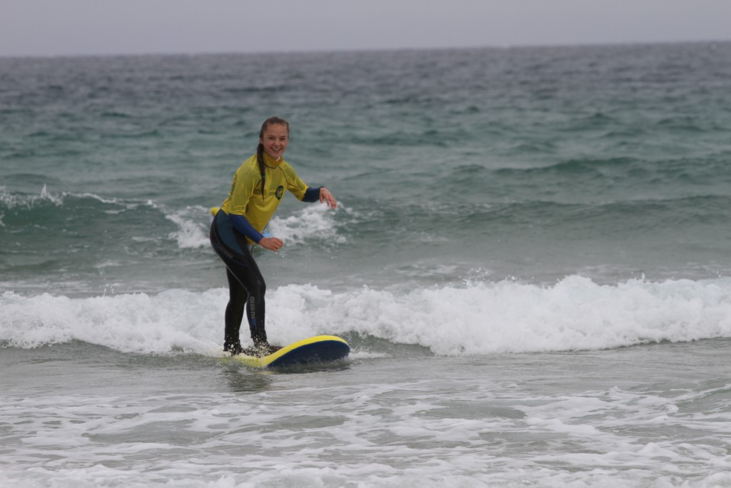 One happy surfer